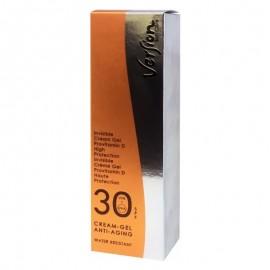 VERSION Cream Gel SPF30 UVB/UVA Αντηλιακή Αόρατη κρέμα προσώπου, 50ml