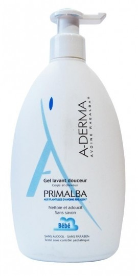 A-DERMA,  Primalba gel lavant douceur, Απαλή Καθημερινή υγιεινή για το μπάνιο του μωρού, 500ml