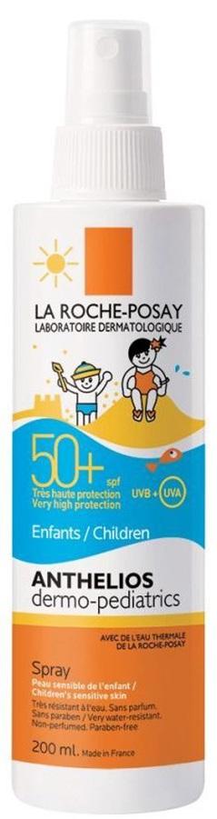 LA ROCHE-POSAY Anthelios DP Spray SPF50+ Παιδικό Spray σε Πρακτική Συσκευασία με Αντλία, 200ml