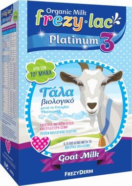 FREZYDERM Frezylac Platinum 3, Βιολογικό Κατσικίσιο Γάλα από τον 10ο μήνα, 400g