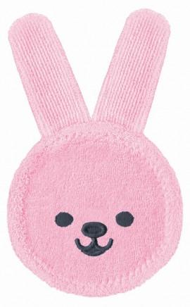 MAM Oral Care Rabbit Γάντι καθαρισμού στοματικής κοιλότητας και για νεογέννητα μωρά code 611 Girl