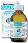 CURASEPT, ADS® 205, Στοματικό διάλυμα με 0,05% Χλωρεξιδίνη +0,05% Φθοριούχο Νάτριο ,  200ml