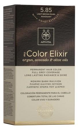 APIVITA My Color Elixir N8.85 Καστανό Ανοιχτό Περλέ, 125ml