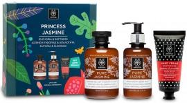 APIVITA Promo Box Princess Jasmine: Αφρόλουτρο & Ενυδατικό Γαλάκτωμα Pure Jasmine με Δώρο Κρέμα Χεριών Ενυδάτωσης με Γιασεμί & Πρόπολη, 200ml & 200ml …