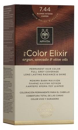 APIVITA My Color Elixir N7.44 Ξανθό Έντονο Χάλκινο, 125ml