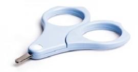 SUAVINEX Βρεφικό Ψαλιδάκι Νυχιών Ασφαλείας Χρώμα Σιελ code 10 3304014 blue (1 τμχ )