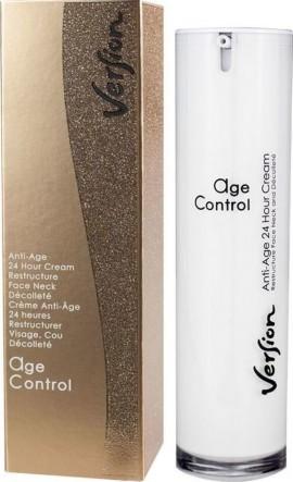 VERSION AGE-CONTROL Αντιγηραντική 24ωρη κρέμα, για το πρόσωπο, το λαιμό 50ml