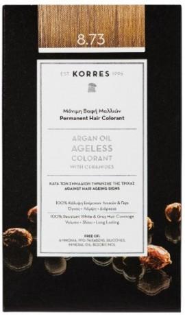 KORRES Argan Oil Colorant NO8.73 Golden Caramel, 50ml