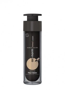 FREZYDERM Ac-Norm Tinted Cream, Έγχρωμη επικαλυπτική κρέμα για την ακνεϊκή επιδερμίδα. Καλύπτει και αντιμετωπίζιει τα συμπτώματα της ήπιας, μέτριας & …