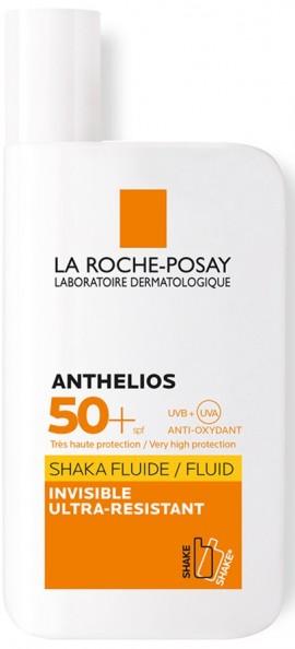 LA ROCHE-POSAY Anthelios Shaka Fluid SPF50+ Αντηλιακή Κρέμα Προσώπου με Ultra Προστασία, 50ml