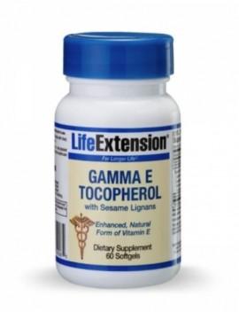 LIFE EXTENSION GAMMA E TOCOPHEROL 60CAPS