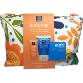 APIVITA Promo Αντιρυτιδική Κρέμα Προσώπου SPF50 με Δώρο After Sun σε Travel Size, 50ml & 100ml