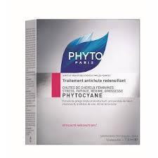 PHYTO PHYTOCYANE AMPOULES 12AMPX7,5ML