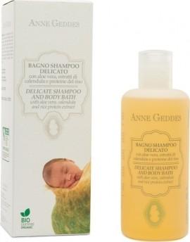 Anne Geddes Baby Delicate Shampoo & Body Bath Βιολογικό Παιδικό Σαμπουάν & Αφρόλουτρο, 250ml