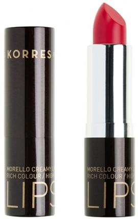 KORRES Matte Lipstick NO21 Vivid Pink Ματ Kραγιόν με Kρεμώδη υφή, 3.5gr