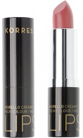 KORRES Morello Creamy Lipstick NO16 Blushed Pink Κρεμώδες Κραγιόν, 3.5gr