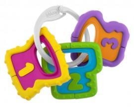 CHICCO Χρωματιστά Κλειδιά σαν Κουδουνίστρα Ηλικίας 3+ Μ Διεγείρει τις Κινητικές Ικανότητες 1τμχ code 05953