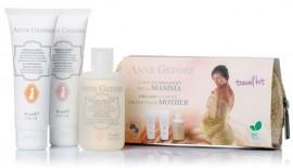 Anne Geddes Travel Kit For Mother Κρέμα ελαστικότητας & πρόληψης Ραγάδων, 50ml & Ενυδατική & Αναπλαστική κρέμα σώματος, 50ml & Αφρόλουτρο με φυτικά εκ …