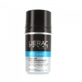 LIERAC Homme Deo 24H Action Non Stop Αποσμητικό, 50ml
