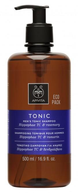 APIVITA Eco Pack Τονωτικό Σαμπουάν Κατά της Τριχόπτωσης με Hippophae TC & Δενδρολίβανο, 500ml