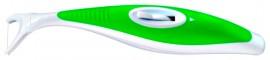 GUM  Flosbrush Automatic Waxed 847 Οδοντικό Νήμα Ελαφρά Κερωμένο 30m με Λαβή Επαρκεί για 250 χρήσεις