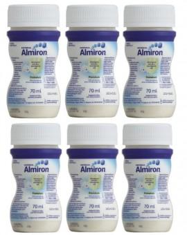 Almiron Premature της NUTRICIA, ειδικό γάλα για πρόωρα / λιποβαρή μωρά σε υγρή μορφή (Πλαστικό φιαλίδιο 70ml), συσκευασία 6 τεμαχίων
