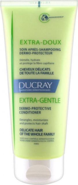 DUCRAY, Extra-Doux Soin Apres Shampoo, Δερμοπροστατευτική Κρέμα Μαλλιών για Μετά το Λούσιμο, 200ml