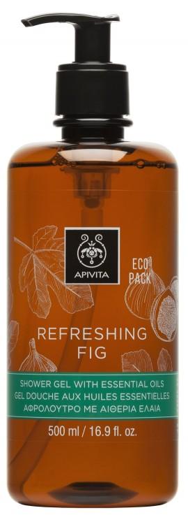 APIVITA Eco Pack Refreshing Fig Αφρόλουτρο, 500ml