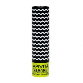 APIVITA Lip Care SPF 15 με Χαμομήλι, 4.4gr
