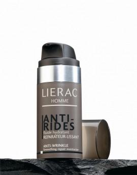 LIERAC HOMME ANTI-RIDES FLUIDE HYDRATANT, Λεπτόρρευστη Κρέμα για επανόρθωση της επιδερμίδας για άνδρες, 50ml