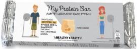 POWER HEALTH My Protein Bar, Μπάρα Αλμυρή Πλούσια σε Πρωτεΐνες με Γεύση Τυρί, 40gr