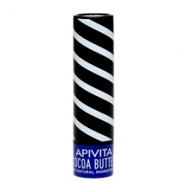 APIVITA Lip Care SPF 20 με Βούτυρο Κακάο, 4.4g