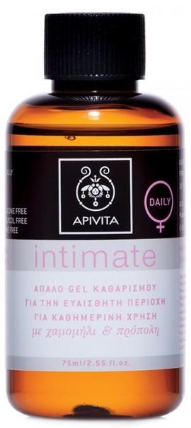 APIVITA Mini Intimate Daily με Χαμομήλι & Πρόπολη, 75ml