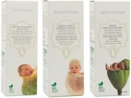 ΣΕΤ Anne Geddes Βιολογικό Παιδικό Σαμπουάν και Αφρόλουτρο, 250ml & Προστατευτική Κρέμα αλλαγής πάνας, 100ml & Βιολογική Ενυδατική Κρέμα για το πρόσωπο …