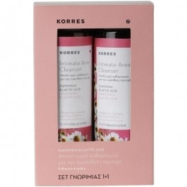 KORRES Υγρό Καθαρισμού με Χαμομήλι & Lactic Acid, 1+1 Δώρο, 250ml & 250ml