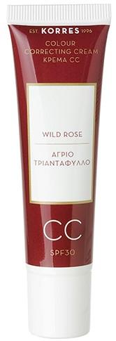 KORRES Άγριο Τριαντάφυλλο Colour Correcting Cream SPF30 Κρέμα CC Medium, 30ml