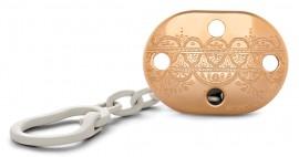 SUAVINEX Premium Haute Couture κλίπ Πιπίλας Χρώμα GOLD YELLOW code 10 304247