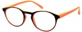Readers Plus RP602 orange Γυαλιά Πρεσβυωπίας Μαύρο - Πορτοκαλί (1τεμ)