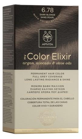APIVITA My Color Elixir N6.78 Ξανθό Σούρο Μπεζ Περλέ, 125ml