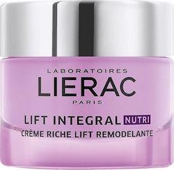 LIERAC Lift Integral Nutri Sculpting Lift Rich Cream Πλούσια Κρέμα Lift Επανασμίλευσης & Αναδόμησης Για Πολύ Ξηρές Επιδερμίδες, 50ml