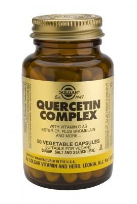 SOLGAR Quercetin Complex, 50Veg.Caps