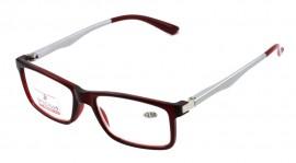 OPTIC PLUS  Γυαλιά Πρεσβυωπίας LR-P3454 Κόκκινο, Συνοδεύεται από θήκη μαλακή (1τεμ)