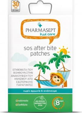 PHARMASEPT Kid Care SOS After Bite Patches, Επιθέματα ανακούφισης αισθήματος κνησμού, 30τμχ