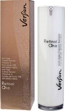 VERSION RETINOL AHA  Αναπλαστική κρέμα νύχτας για όλους τους τύπους δέρματος 50ml
