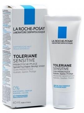 La ROCHE-POSAY Toleriane Sensitive Καθημερινή Ενυδατική Φροντίδα με Πρεβιοτικά που Ανακουφίζει Άμεσα το Δέρμα από τα Συμπτώματα Ευαισθησίας, 40ml