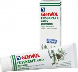 Gehwol Fusskraft Green 125ml, Αντιιδρωτική & αναζωογονητική κρέμα ποδιών 1110107