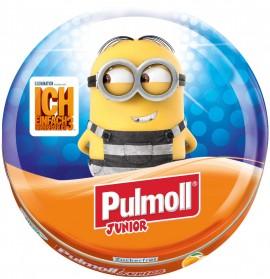 PULMOLL Junior Καραμέλες Χωρίς Ζάχαρη με Πορτοκάλι, 45gr