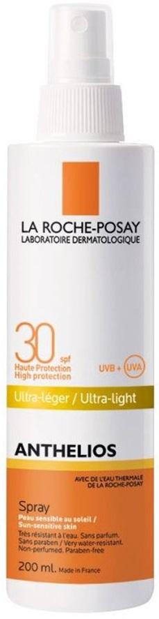 LA ROCHE-POSAY Anthelios Spray SPF30 Αντηλιακό Σπρέι Υψηλής Προστασίας, 200ml