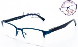 Lesen Germany Γυαλιά πρεσβυωπίας με γυάλινους μετρημένους φακούς υψηλής ευκρίνειας HD, code LN-101 Μπλέ, σε σκληρή προστατευτική θήκη