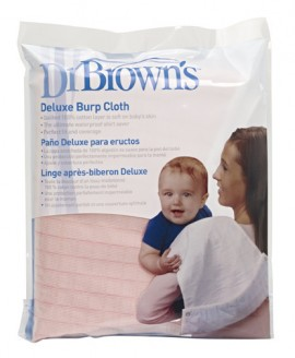 DR.BROWNS Deluxe Burp Cloth Προστατευτικό πανί ώμου Χρώμα Ροζ ((1 τεμάχιο) code 915-GB